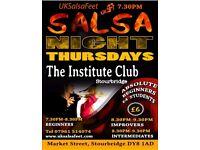 Thursday Night Salsa Classes Stourbridge