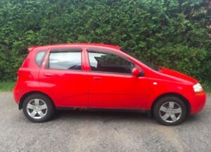 Chevrolet Aveo 2006 162000km seulement ! A1