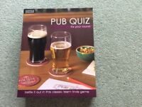 Pub Quiz (it's your round)