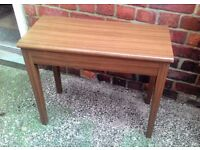 Clearance. Stool Table & Storage Piano Seat? VGC