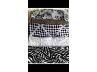 5 scarfs
