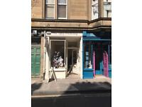 SHOP FOR SALE - 3 Church Hill Place, Morningside; Lovely shop/office/retail premises in highly area.