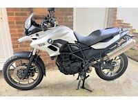BMW F700GS Motorcycle 800cc, Comfort and Dynamic Package, Rider Comfort Seat, LED Indicators