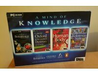 PC CD-ROM A MIND OF KNOWLEDGE 4X ULTIMATE REFERENCE PACK