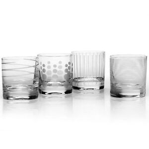 MIKASA Cheers Double Old Fashion Glass - Set Of 8 BRAND NEW