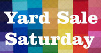 YARD SALE SATURDAY 19th 8-Noon