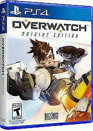 Overwatch ps4 brand new sealed