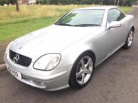 MERCEDES-BENZ SLK 320 3.2 AUTO (2000) CONVERTIBLE