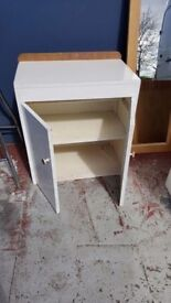 WhiteWood vintage Storage Unit
