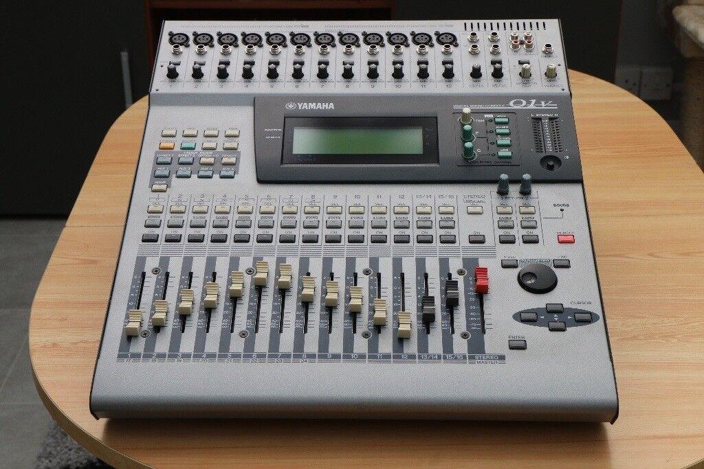 yamaha 01v. yamaha 01v digital mixing console - with my8-at adat card included ** yamaha 01v