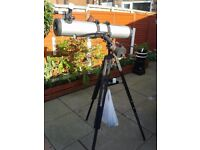 Bushnell 78-9518 Deep Space 675 x 4.5-Inch Reflector Telescope