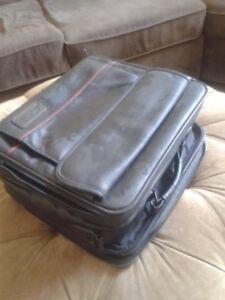 Black Laptop Computer Case- LOTS of Storage