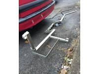 Dave cooper Motorcross tow bar rack