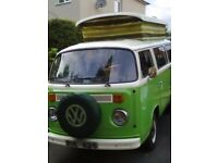 VW Camper Devon conversion 1978
