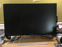 AOC 23.8 inch IPS Ultra-Thin Monitor, HDMI, VGA I2481FXH