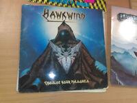 Hawkwind Vinyl Record Bundle, 5 Lps