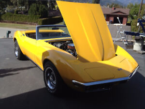1968 corvette convertible matching numbers