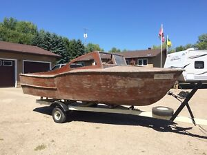Homemade Boat and trailer