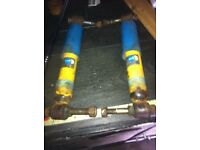 Rear shocks 106 saxo ax