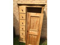 Wooden Nursery Wardrobe