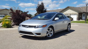 2008 Honda Civic Lx Coupe (2 door) Excellent condition obo