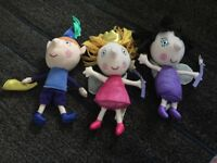 Ben and holly and nanny plum talking toys