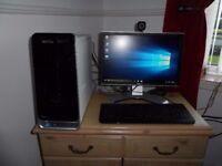 Dell Studio Full Desktop PC, i5 Quad Core CPU, 6GB Ram, 1TB HDD, WiFi, AMD HD Graphics, Win 10