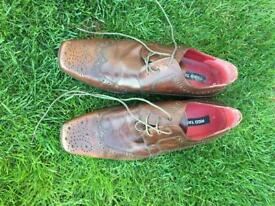 Men's Red Tape Brown shoes.
