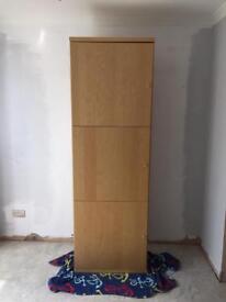 Tall IKEA storage unit