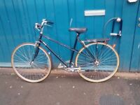 Black vintage bicycle for sale -120 pounds