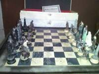 Eaglemoss LORD OF THE RINGS lotr- Collectors Edition Ltd CHESS SET