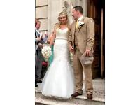 Gracie wedding dress by viva bride. Size 14. Due to corset back would fit size 10-14