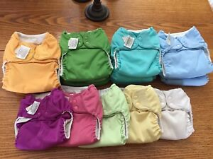 17 Great Condition Bum Genius One Size Adjustible Cloth Diapers