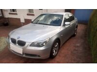 BMW 5 SERIES 3.0 530D SE 4 DOOR AUTOMATIC 2006, 56 Reg In SILVER
