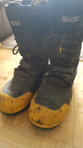 Oil rig boots