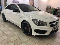 !!20KMILES!! 2015 MERCEDES CLA 45AMG / MERCEDES WARRANTY / 1 OWNER / FMBSH / VERY HIGH SPEC /