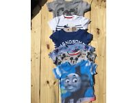 3-6 months boys tshirts excellent condition