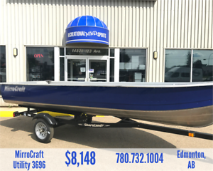 16FT MIRROCRAFT 3696 ALUMINUM FISHING BOAT PACKAGE *SALE*