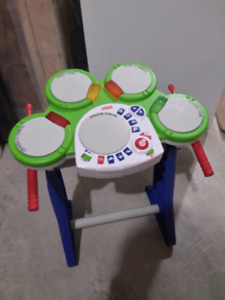 FisherPrice Rock and Play Drum - $10