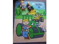 Bob the Builder figures, vehicles and mat
