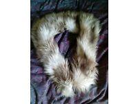 River Island faux fur stole