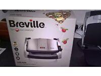 Breville Cafe Style 3 slice Sandwich press