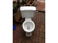 Toilet And Cistern