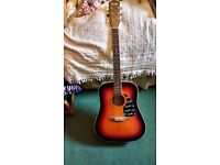 Fender DG-3 acoustic guitar sunburst