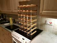 Lovely 24 Bottle Wine Rack £5