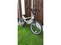"Boys 20 "" bmx bike in light green can deliver for a small charge"