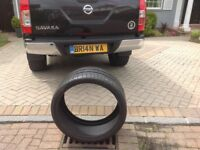 Tyres new Michelin 295x25x22