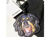 Authentic Givenchy Rottweiler Handbag Charm Givenchy Tagged RRP £270 Givenchy Handbag Brand New