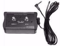 Fender Mustang MS2 - 2 Button Footswitch. New and unused