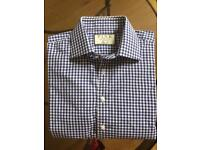 Thomas Pink Slim Fit shirt with long sleeves